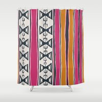 cleveland Shower Curtains featuring Cleveland 4 by Little Brave Heart Shop