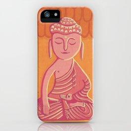Buddha C iPhone Case