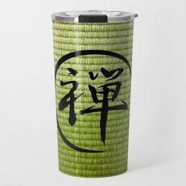 Zen on Tatami Travel Mug