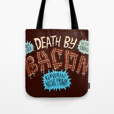 Death by Bacon Tote Bag