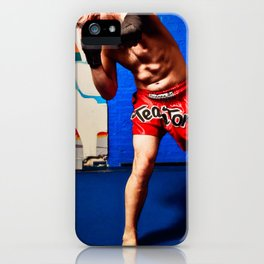 Fight : Punch iPhone Case