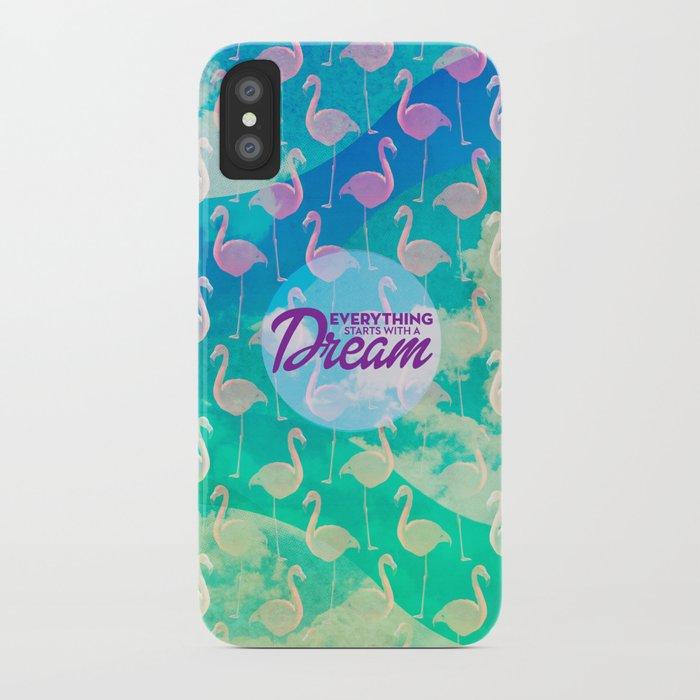 Flamingo Dream iPhone Case