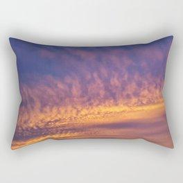 Sunset Over Georgia Rectangular Pillow