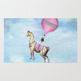 Flying Llama Rug