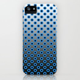 GRADIANT CIRCLES  iPhone Case