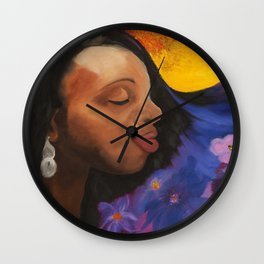 Better Days Ahead Wall Clock