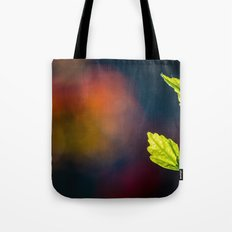Leaves in a colorful world Tote Bag