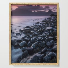 Sunset at Elgol II Serving Tray