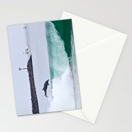 Dolphin Jumping Newport Beach Stationery Cards