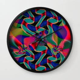 Blind Conformity Wall Clock