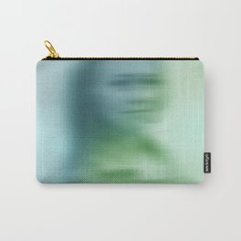 Blurry face Carry-All Pouch