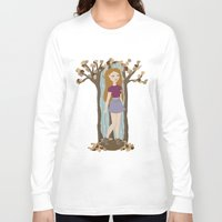 lydia martin Long Sleeve T-shirts featuring Autumn Lydia by tashaliz