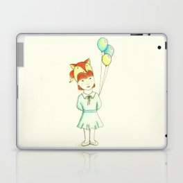 Fox Girl Laptop & iPad Skin