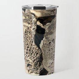 Stone Lace Wings Rock Boulder Washington Northwest Geology Geologist Sandstone Chuckanut Formation Travel Mug