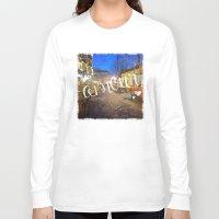 bohemian Long Sleeve T-shirts featuring Bohemian Dream by Angela Pesic