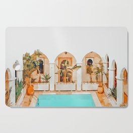 Turkish Holiday #painting #travel Cutting Board