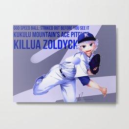 Kululu Mountain's Ace Pitcher Metal Print