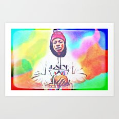 Joey Bada$$ Art Print