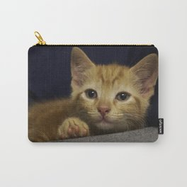 Pondering Kitten Carry-All Pouch