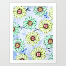 I'm an Early Bloomer Art Print
