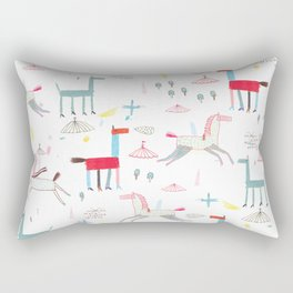 MerryGoRound Rectangular Pillow