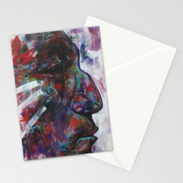 Freedom Calls (Wolf Robe) Indian Native American Stationery Cards