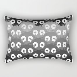 susuwatari pattern Rectangular Pillow
