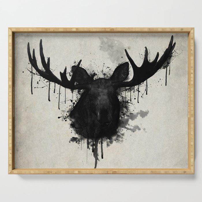 Moose Serving Tray