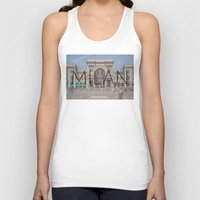 milan Tank Tops featuring MILAN by Diego Russo Photography