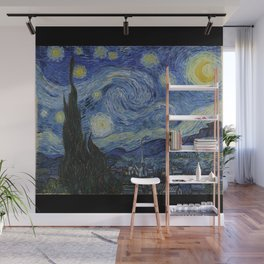 The Starry Night by Vincent van Gogh Wall Mural