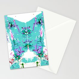 His Rorschach Test Stationery Cards