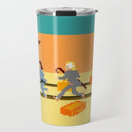 How Can A Train Be Lost? Travel Mug