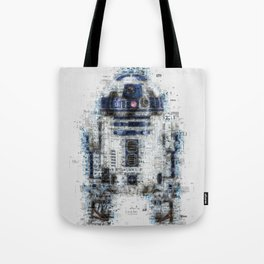 R2-D2, Newspaper Style Tote Bag