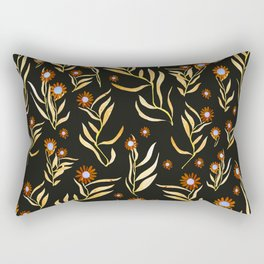 gold nature Rectangular Pillow