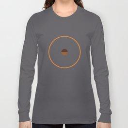 catch    anthracite & ocher Long Sleeve T-shirt