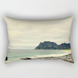 Beach Cliff Rectangular Pillow