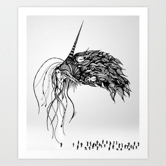 The Eldritch Art Print