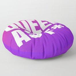 Queer As F Floor Pillow
