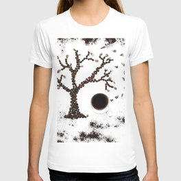 Coffee and nature T-shirt