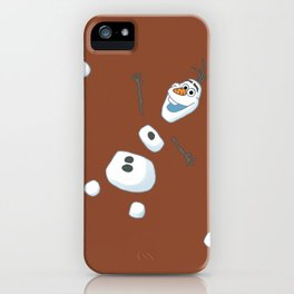 Snowman Hot Cocoa iPhone Case