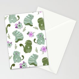 Japanese Cat Pattern Stationery Cards