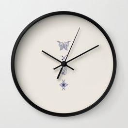 Mystical Totem Wall Clock
