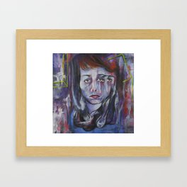 Loss of Identity  Framed Art Print