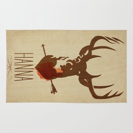 HANNA film tribute poster Rug