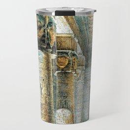 Tempel Dendera Travel Mug