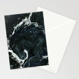Dark Pegasus Stationery Cards
