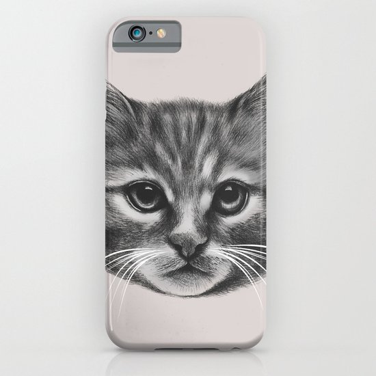 Everybody wants to be a Cat (MONOTONE) iPhone & iPod Case