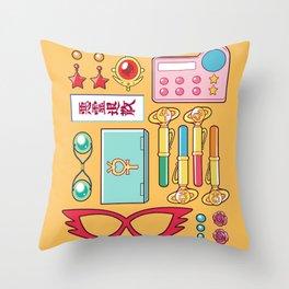 Inner Senshi Starter Kit  Throw Pillow