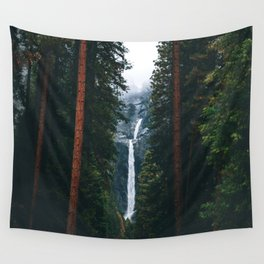 Yosemite Falls - Yosemite National Park, California Wall Tapestry