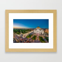 Bellas Artes 2 Framed Art Print
